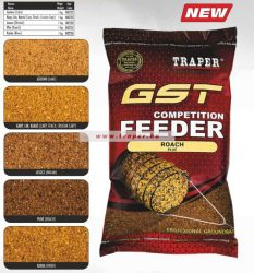 Traper GST Competition Feeder 1kg Többféle ízben