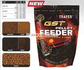 Traper GST Feeder Pellet 500gr Többfelé színben és méretben