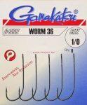 Gamakatsu Worm-36 Többféle Méretben