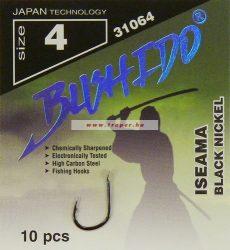 Traper Bushido Iseama Black Nickel Fekete-Nikkel Színben Többféle Méretben