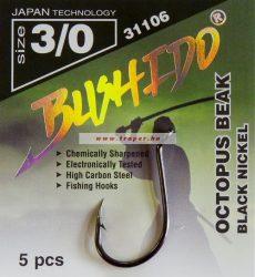 Bushido Octopus Beak Black Nickel Többféle Méretben