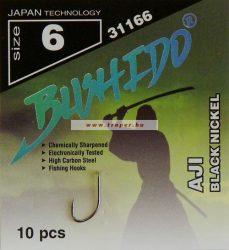 Traper Bushido Aji Black Nickel Többféle Méretben