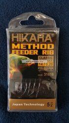 Traper Hikara Classic Előkötött Horog Csalitüskével Többféle horogmérettel és előkemérettel