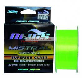 Nevis Mistral Fluo Green 300M 0,20