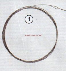 Traper Gumibetűző Drót (170 cm)