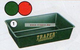 Traper Szögletes Tál Kicsi 33x22cm (piros vagy zöld)