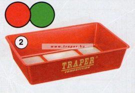 Traper Szögletes Tál Kicsi Hálós Aljú 33x22cm