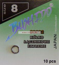 Traper Bushido Extreme Split Ring Kulcskarika