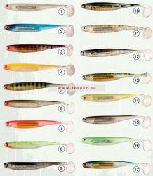 Traper Tin Fish Gumihal Többféle Színben és Méretben (10db/csomag)