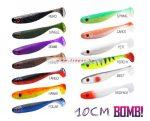 Delphin BOMB! Gumihal Rippa / 5db 10cm/SPRING