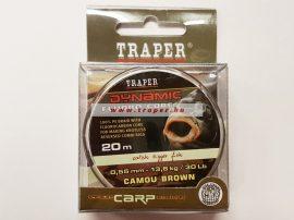 Traper Bojlis Előkezsinór Dynamic30 lbs/20 m Kétféle Színben