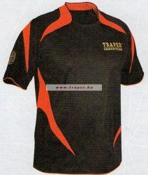 Traper Competition Póló Fekete/Piros