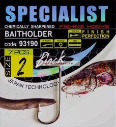 Specialist Baitholder Black (Fekete) Többféle Méretben