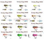 Spinmad Tail Spinner Crazy Bug 4gr Többféle színben