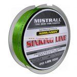 Mistrall Admunson Sinking Line Zöld Többféle méretben