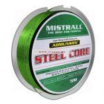 Mistrall Admunson Steel Core Zöld előkezsinór Több méretben