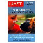 Lavet Csonterősítő Tabletta Kutyák Számára