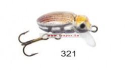 Mistrall Beetle Sinking Wobbler 2,5cm Többféle színben